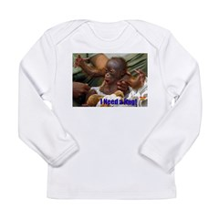 need hug.jpg Long Sleeve Infant T-Shirt