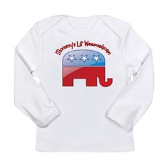 Mommy's Lil Weepublican Long Sleeve Infant T-Shirt