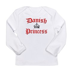 Danish Princess Long Sleeve Infant T-Shirt