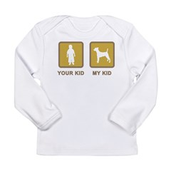 Smooth Fox Terrier Long Sleeve Infant T-Shirt