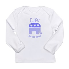 Life of the Party Long Sleeve Infant T-Shirt