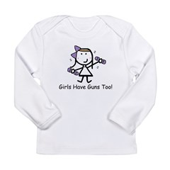 Exercise - Girls Guns Long Sleeve Infant T-Shirt