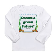 Green Future Long Sleeve Infant T-Shirt
