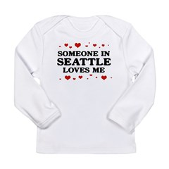 Loves Me in Seattle Long Sleeve Infant T-Shirt
