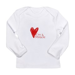 Miracle Baby Long Sleeve Infant T-Shirt