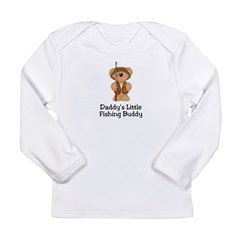 Daddy's Fishing Buddy Long Sleeve Infant T-Shirt