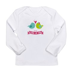 For the Love of Nie Infant Onesie Long Sleeve Infant T-Shirt
