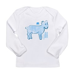 Chinese Horoscope (Goat) Long Sleeve Infant T-Shirt