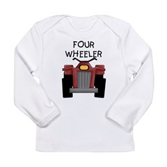 Four Wheeler Long Sleeve Infant T-Shirt