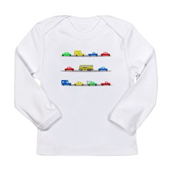 Cars! Cars! Cars! Long Sleeve Infant T-Shirt