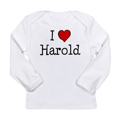 I love Harold Long Sleeve Infant T-Shirt