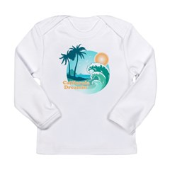 California Dreamin' Long Sleeve Infant T-Shirt