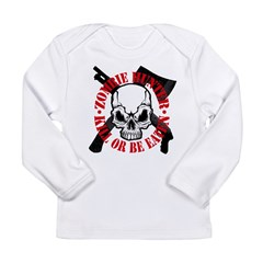 Zombie Long Sleeve Infant T-Shirt