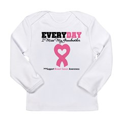 BreastCancerMissGrandmother Long Sleeve Infant T-Shirt