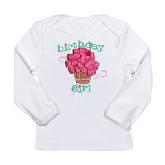 Birthday Girl Long Sleeve Infant T-Shirt