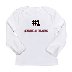 Number 1 COMMERCIAL SOLICITOR Long Sleeve Infant T-Shirt