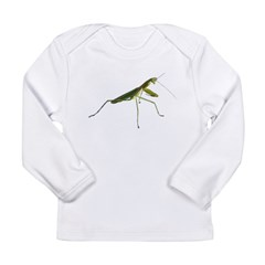 Praying Mantis Infant Creeper Long Sleeve Infant T-Shirt