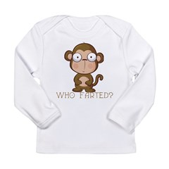 Who Farted? Long Sleeve Infant T-Shirt