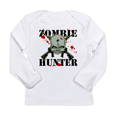 Zombie Hunter Long Sleeve Infant T-Shirt