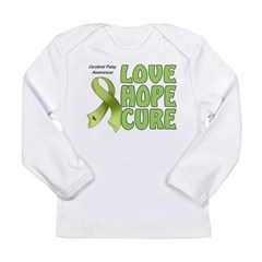 Cerebral Palsy Awareness Long Sleeve Infant T-Shirt