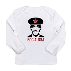 Obama Socialism Long Sleeve Infant T-Shirt