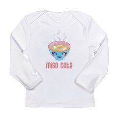 Miso Cute Long Sleeve Infant T-Shirt