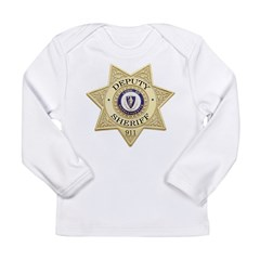 Massachusetts Deputy Sheriff Long Sleeve Infant T-Shirt