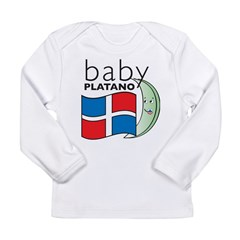 Baby Platano Infant Creeper Long Sleeve Infant T-Shirt