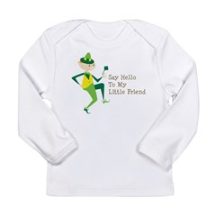 Say Hello To My Little Friend Long Sleeve Infant T-Shirt