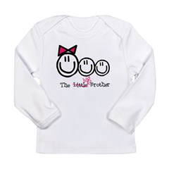Big Brother (Middle, gbb) Long Sleeve Infant T-Shirt