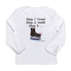 3 Steps Kids Long Sleeve Infant T-Shirt