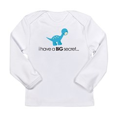 i have a secret big brother Kids Long Sleeve Infant T-Shirt