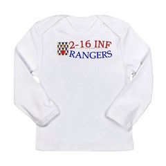 2nd Bn 16th Infantry Long Sleeve Infant T-Shirt