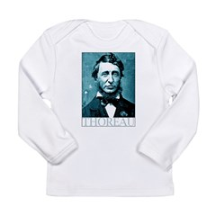 Henry David Thoreau Long Sleeve Infant T-Shirt