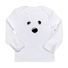 Westie Face Long Sleeve Infant T-Shirt