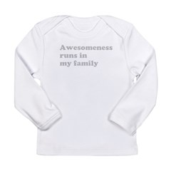 Awesomeness light Long Sleeve Infant T-Shirt