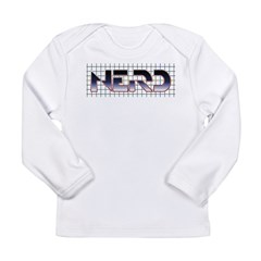 TRON Nerd Long Sleeve Infant T-Shirt