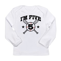 5 Year Old Long Sleeve Infant T-Shirt