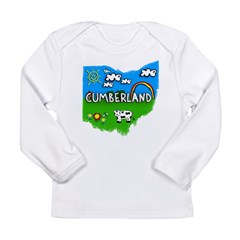 Cumberland, Ohio. Kid Themed Long Sleeve Infant T-Shirt