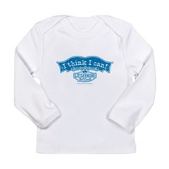 I Think I Can Arch Vintage Long Sleeve Infant T-Shirt