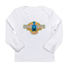 Chug Chug Forward Long Sleeve Infant T-Shirt