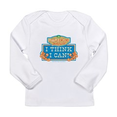 I Think I Can Color Long Sleeve Infant T-Shirt