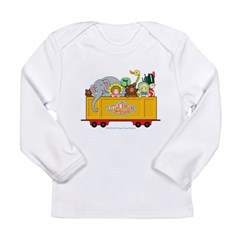 Freight Car Long Sleeve Infant T-Shirt