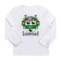 Sweeney Coat of Arms Infant Creeper Long Sleeve Infant T-Shirt