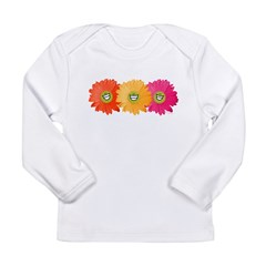 Happy Gerber Daisy Infant Creeper Long Sleeve Infant T-Shirt