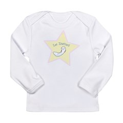 First Instar Girl Infant Creeper Long Sleeve Infant T-Shirt