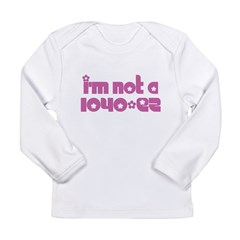 Infant Creeper - Not A 1040-EZ Long Sleeve Infant T-Shirt