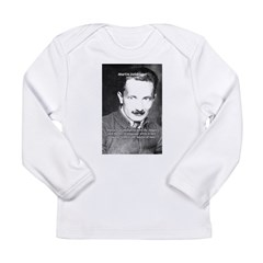 Man / Language: Heidegger Infant Creeper Long Sleeve Infant T-Shirt