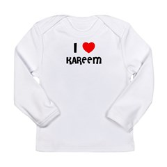 I LOVE KAREEM Infant Creeper Long Sleeve Infant T-Shirt