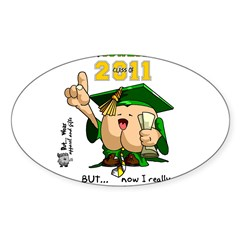 "2011 Oswego 3"" Lapel Sticker (48 pk) Sticker (Oval)"